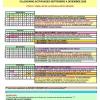Calendario de SEPTIEMBRE a DICIEMBRE 2020